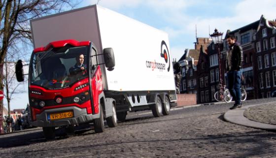 elektrisch vrachtvervoer Cargohopper