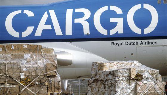 KLM Cargo vracht schiphol afbeelding bij Stand van Transport