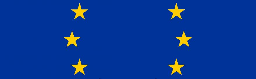 Logo Europese Unie bij kennissessie europese subsdie