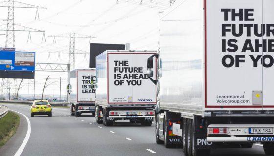 truck platooning zelfrijdend vervoer in EU