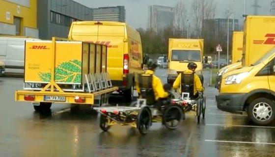 elektrische vrachtfiets cubicycle