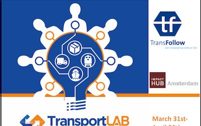 logo bij start transportlab challenge