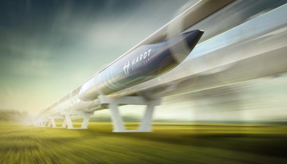 Foto bij hyperloop