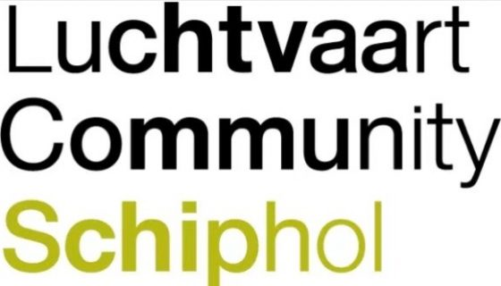 Logo Luchtvaart Community Schiphol (LCS)