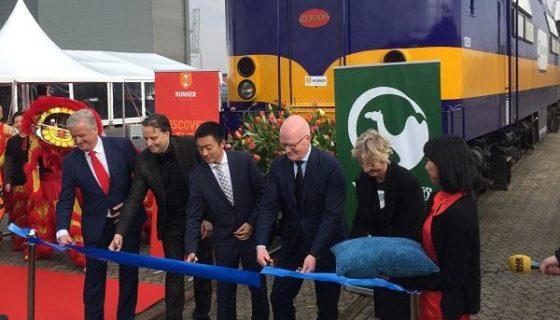 eerste containertrein china